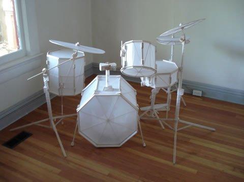 Paper Drum Kit