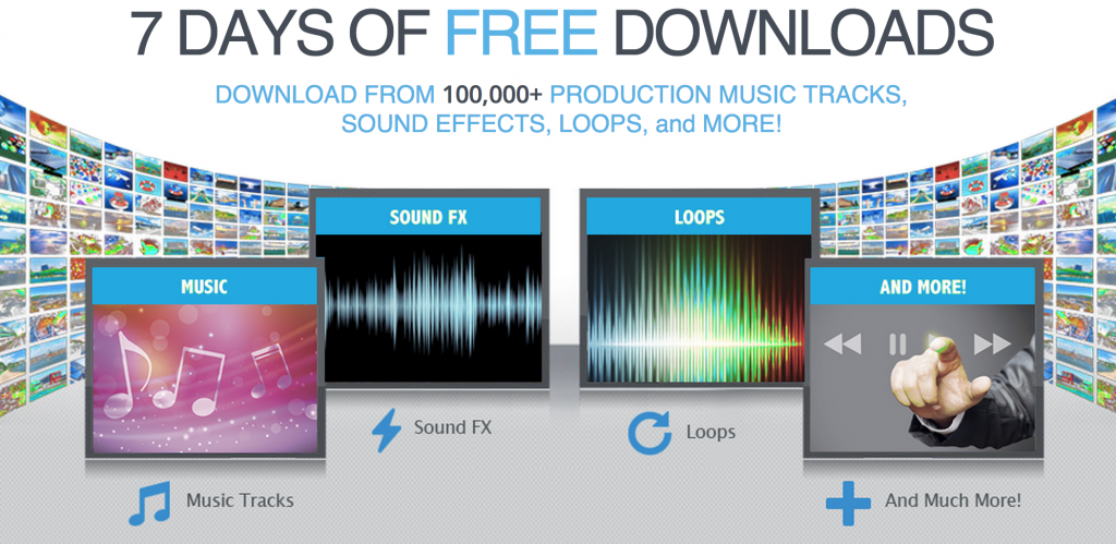 Audio Blocks 7 Days Free Trial