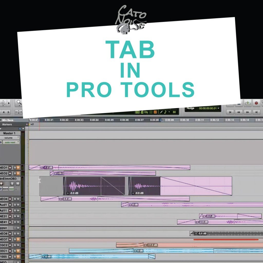 Ep25 Tab Key in Pro Tools